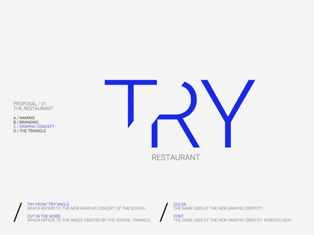 TRY//ANGLE Restaurant and Cafeteria